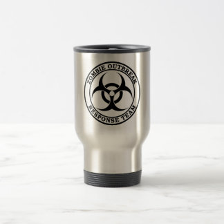 Zombie Outbreak Response Team (Biohazard) Travel Mug