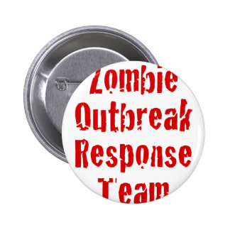 Zombie Outbreak Response Team Buttons