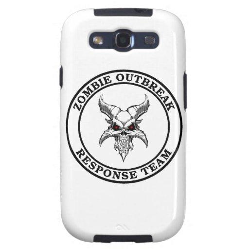 Zombie Outbreak Response Team (Demonhead) Samsung Galaxy SIII Cases