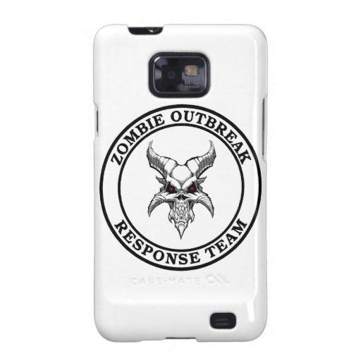Zombie Outbreak Response Team (Demonhead) Samsung Galaxy S2 Case