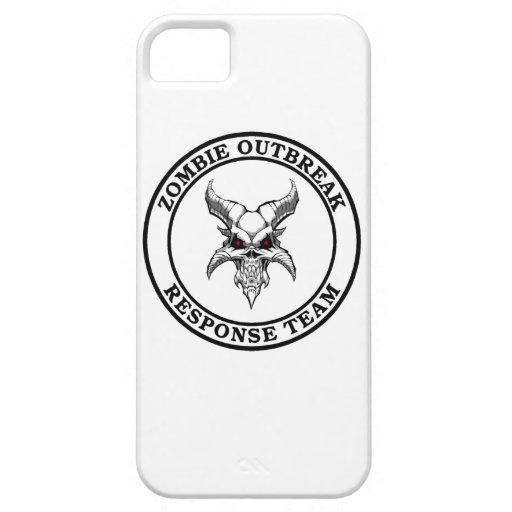 Zombie Outbreak Response Team (Demonhead) iPhone 5/5S Covers