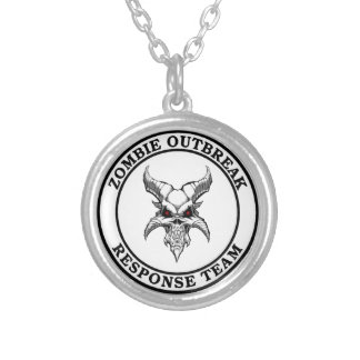 Zombie Outbreak Response Team (Demonhead) Personalized Necklace