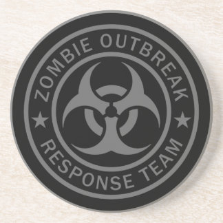 Zombie Outbreak Response Team Drink Coaster