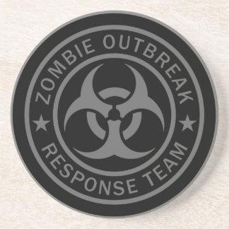 Zombie Outbreak Response Team Drink Coaster