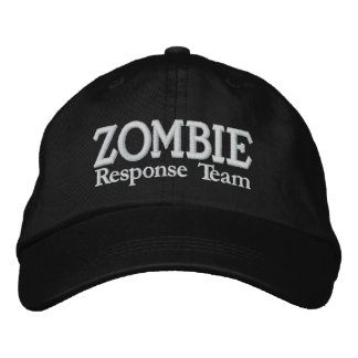 Zombie Outbreak Response Team Embroidered Baseball Hat