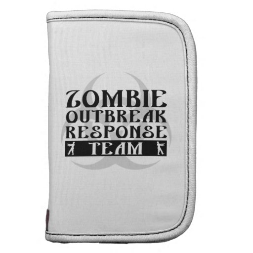Zombie Outbreak Response Team Folio Planner