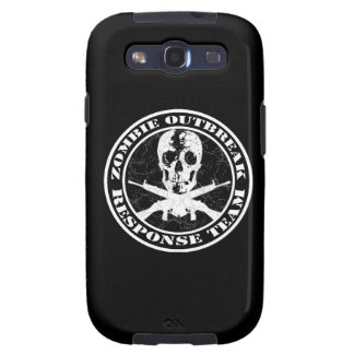 Zombie Outbreak Response Team Galaxy S3 Covers