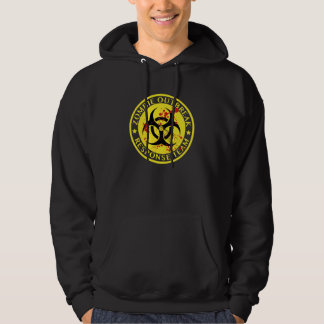 Zombie Outbreak Response Team Hooded Pullovers