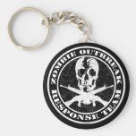 Zombie Outbreak Response Team Key Chain