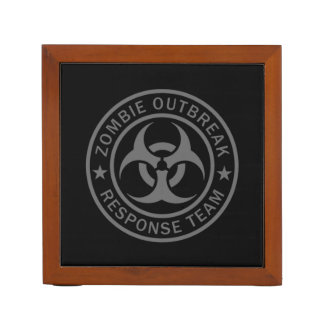 Zombie Outbreak Response Team Pencil/Pen Holder