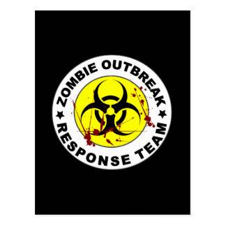 Zombie Outbreak Response Team. Postcard