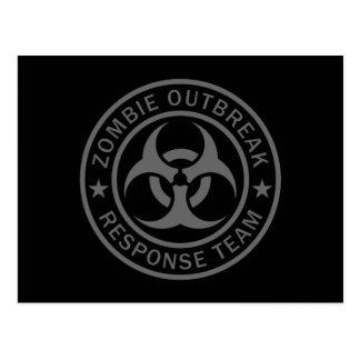 Zombie Outbreak Response Team Postcard