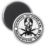 Zombie Outbreak Response Team Refrigerator Magnet