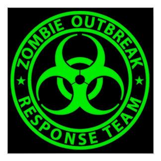 Zombie Outbreak Response Team Sign