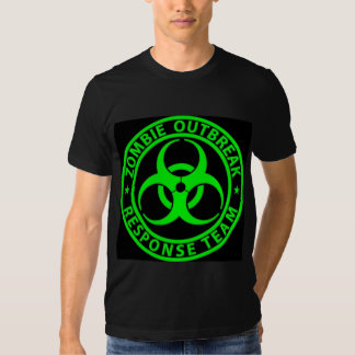 Zombie Outbreak Response Team Sign T Shirt