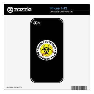 Zombie Outbreak Response Team. Skins For iPhone 4S