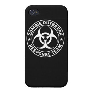 Zombie outbreak response team zombie dead undead c cover for iPhone 4