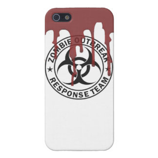 Zombie outbreak response team zombie dead undead c iPhone SE/5/5s case