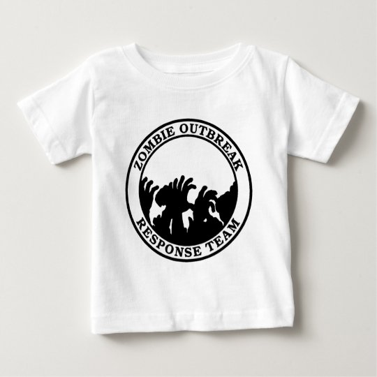 Zombie Outbreak Response Team (Zombie Hands) Baby T-Shirt