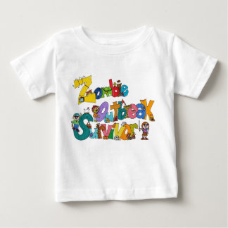 Zombie Outbreak Survivor Baby T-Shirt