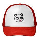 Zombie Panda Head Trucker Hat