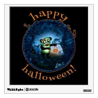 Zombie Panda Spooky Hollow Wall Sticker
