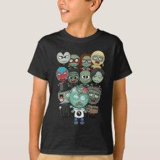 Zombie Parade T-Shirt at Zazzle