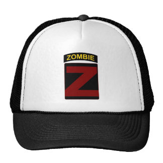 Zombie Patch and Tab Cap Trucker Hat