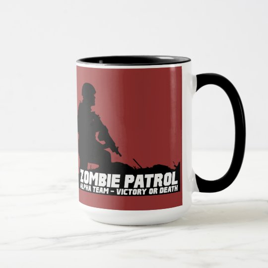 Zombie Patrol - Alpha Team, Victory or Death Mug