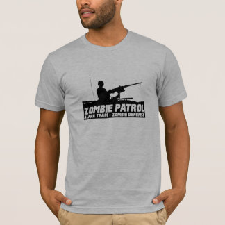 Zombie Patrol - Alpha Team Zombie Defense T-Shirt