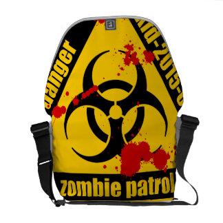 Zombie patrol courier bag