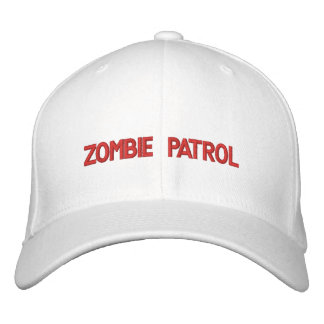 Zombie Patrol Embroidered Baseball Hat