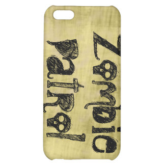 Zombie Patrol Cover For iPhone 5C