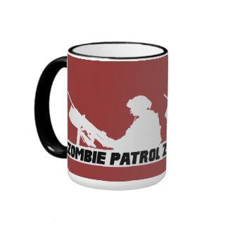 Zombie Patrol - On the Gun Ringer Mug