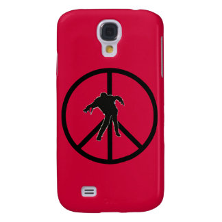 Zombie Peace Sign  Galaxy S4 Case