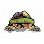Zombie Peek-A-Boo Postcards