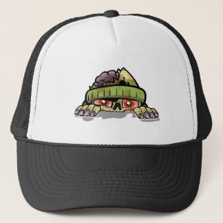 Zombie Peek-A-Boo Trucker Hat
