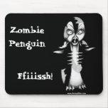 Zombie Penguin: Ffiiissh! Mouse Mats