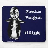Zombie Penguin: Ffiiissh! Mouse Pad