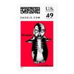 Zombie Penguin: Ffiiissh! Postage Stamp