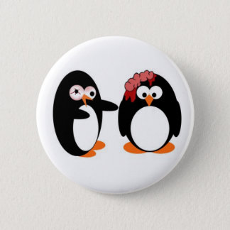 Zombie Penguin Pin