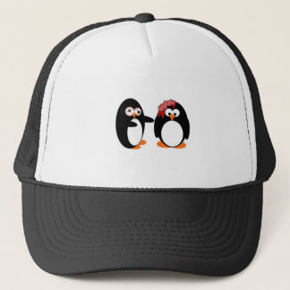 Zombie Penguin Trucker Hat