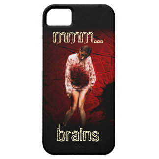 Zombie phone case (mmm... brains)