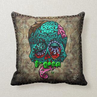 Zombie Pillah number 1 Throw Pillows