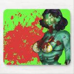 Zombie Pin-Up Mousepad