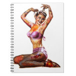Zombie Pin Up Notebook