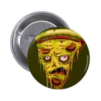 _zombie pizza pinback button