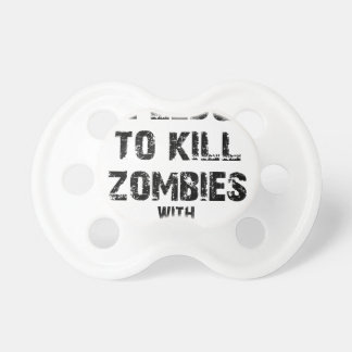 Zombie Pledge Merch Pacifier