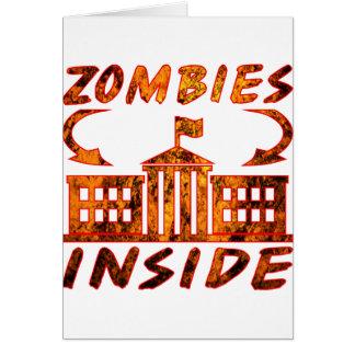 Zombie Politicians Card