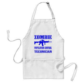 Zombie Population Control Technician Adult Apron